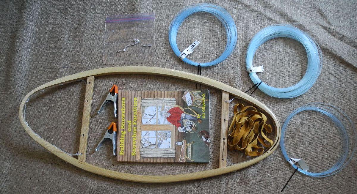 Snowshoe Weaving Kit