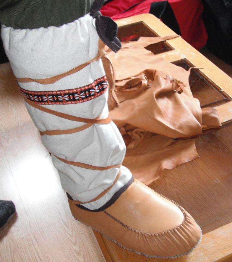 Diy Winter Moccasin Mukluk Making Kits