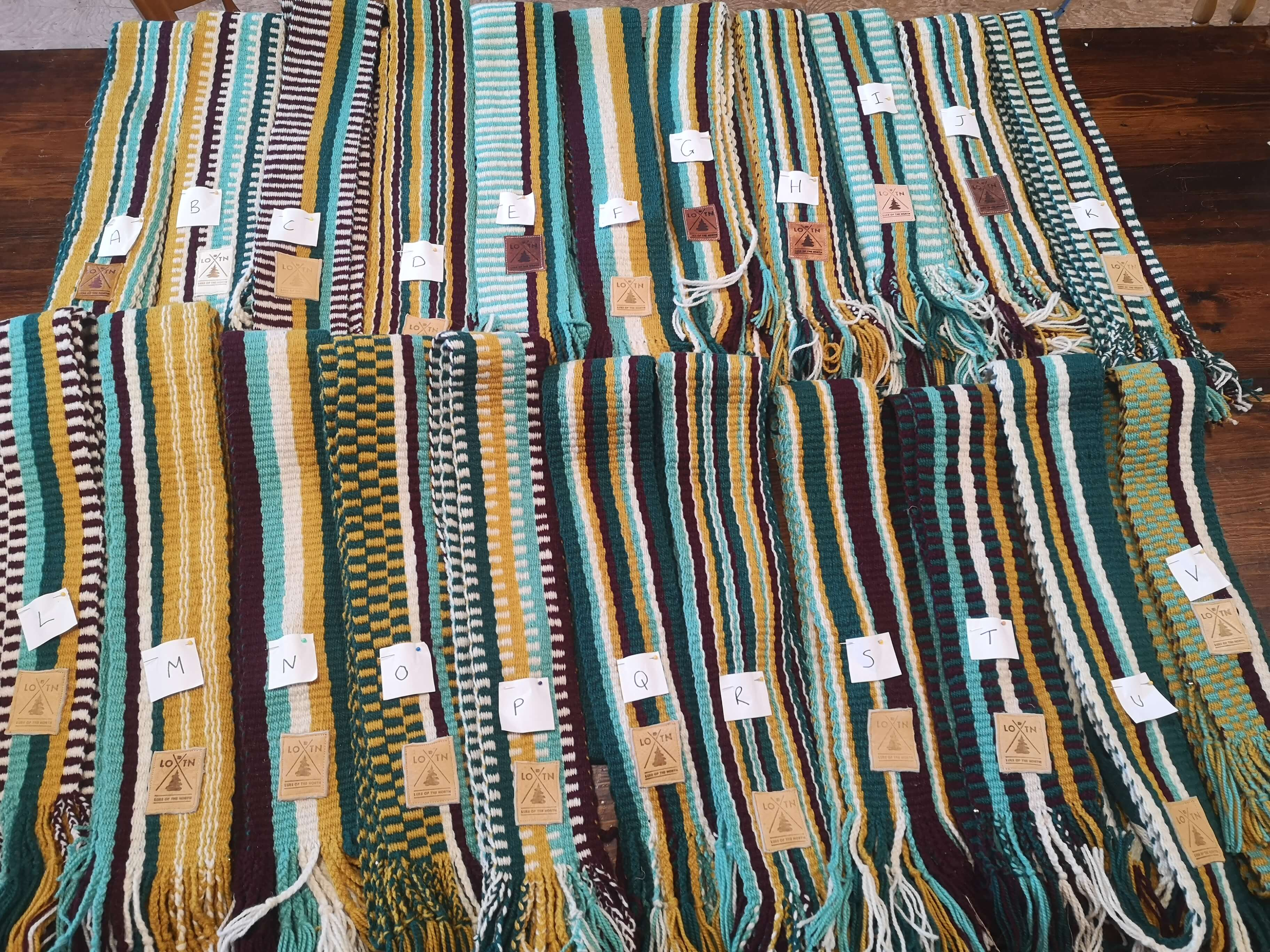 Traditional Winkle Sashes