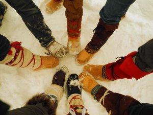 LOTN winter moccasins
