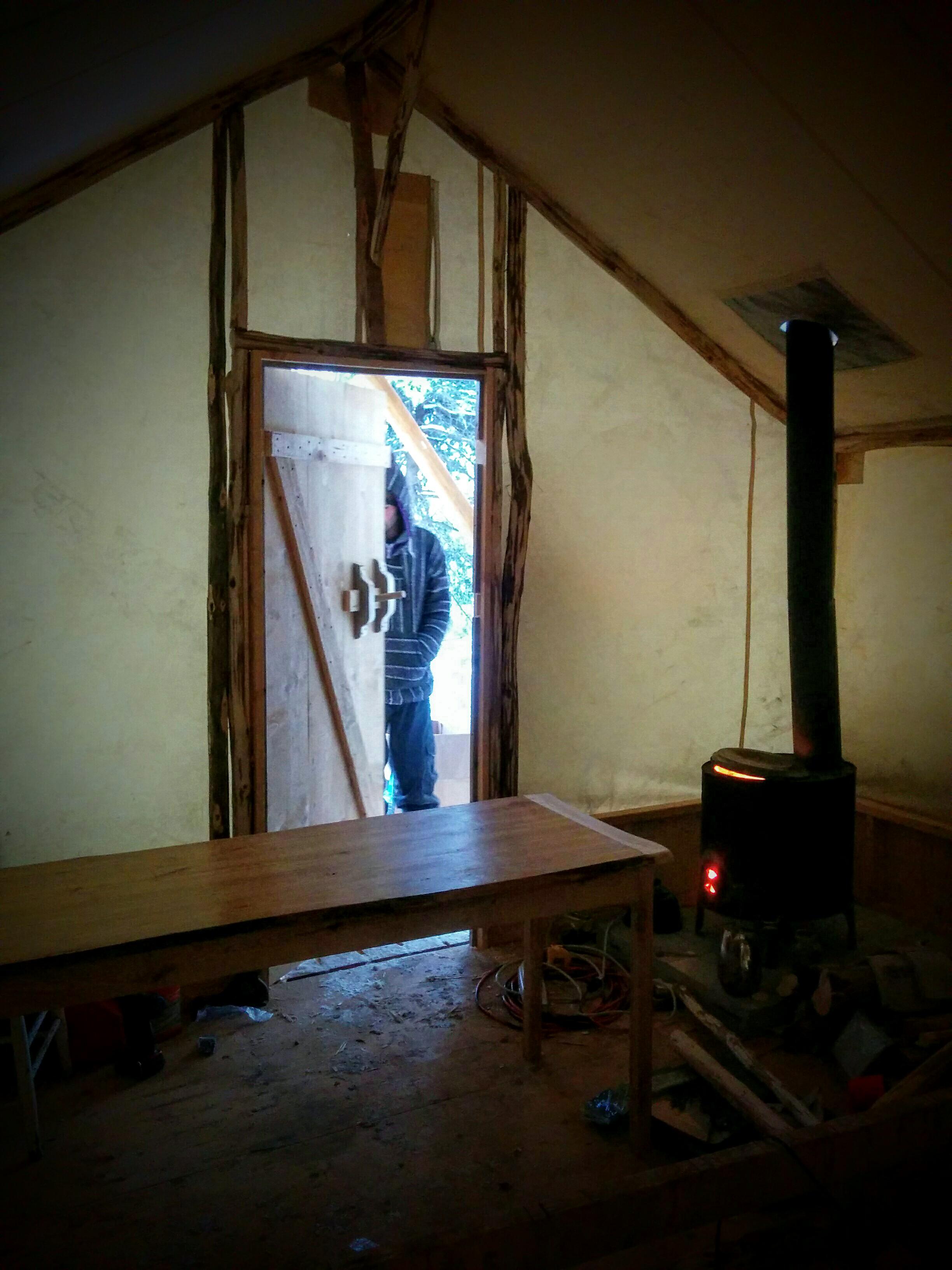 tent interior LOTN