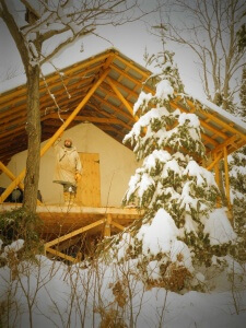 Guest Tent Exterior