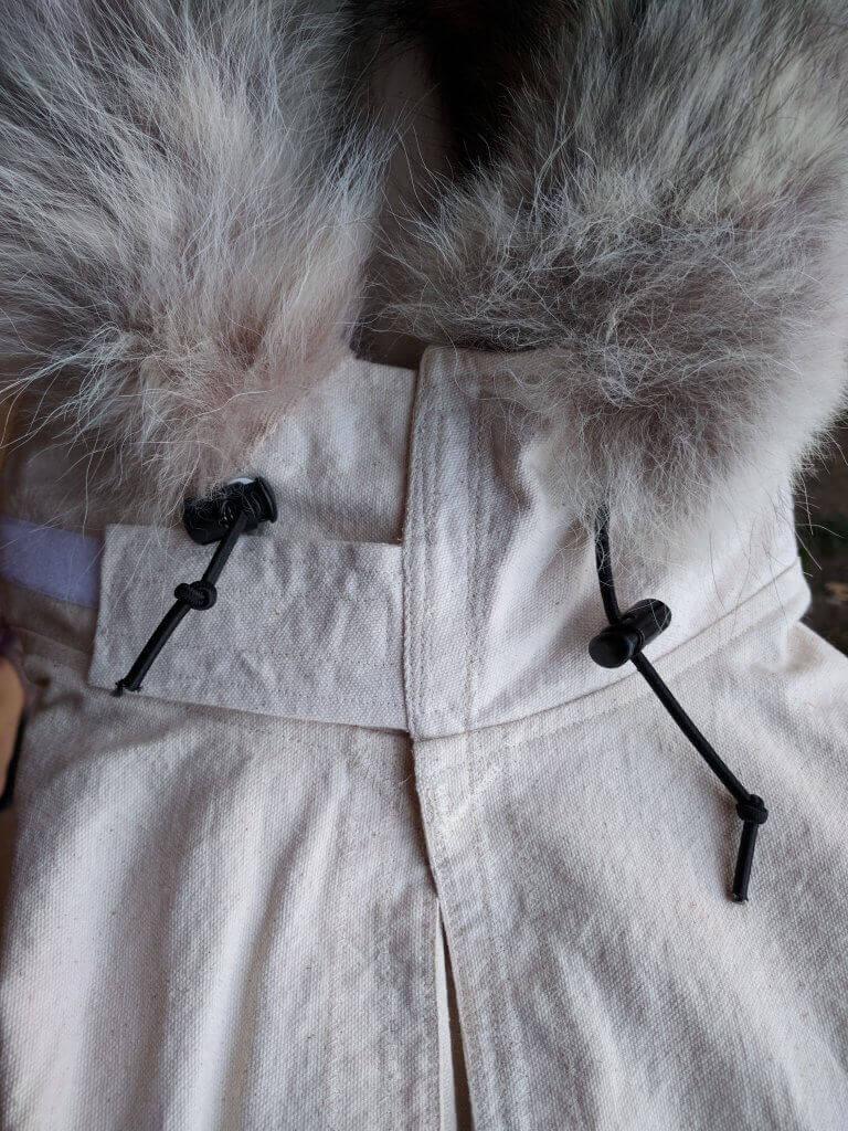 Anorak Improved Hood Closure