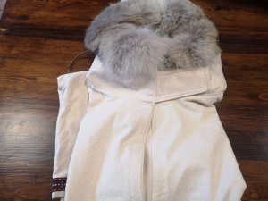 coyote fur ruff anorak